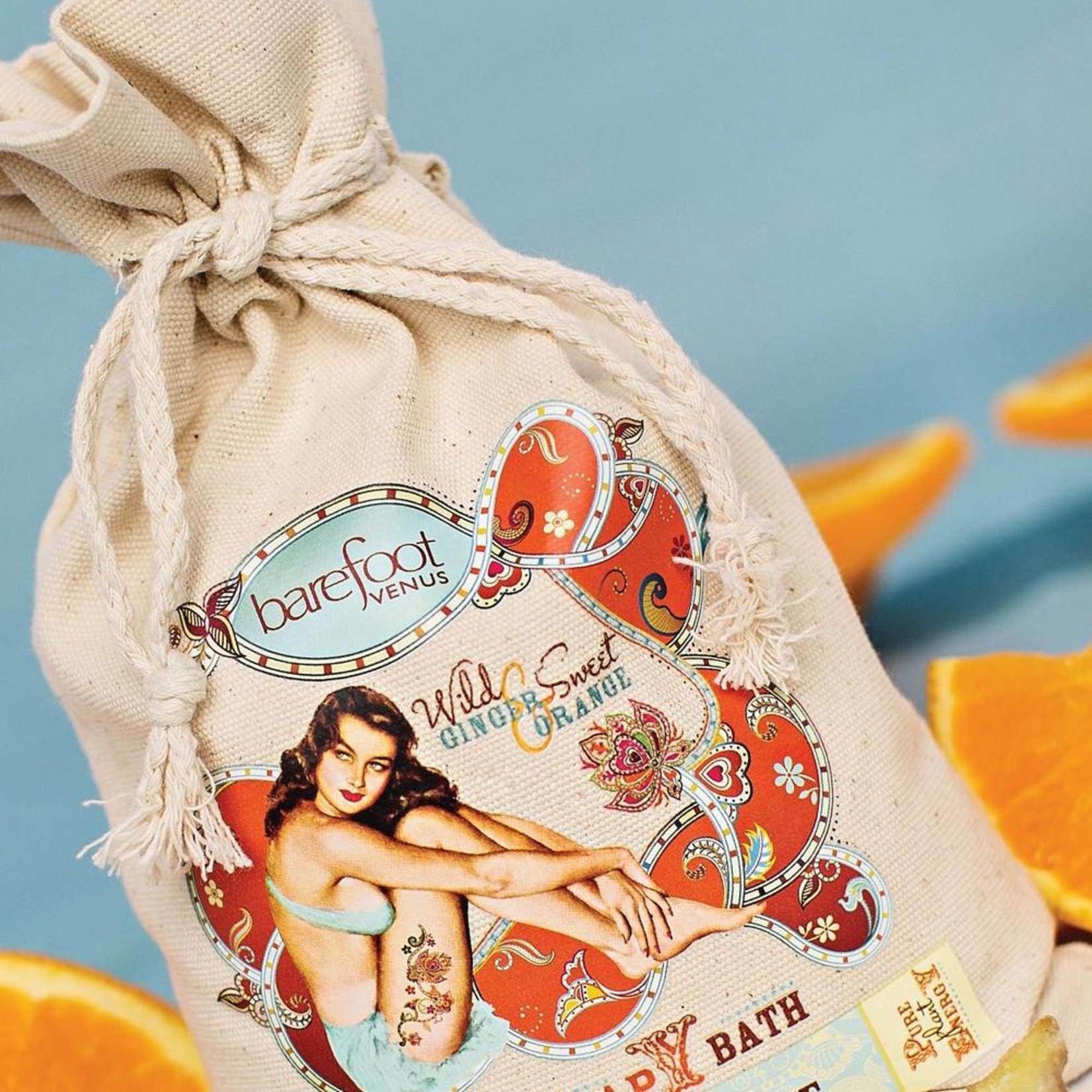 Barefoot Venus Wild Ginger & Sweet Orange ~ Oat Therapy Bath