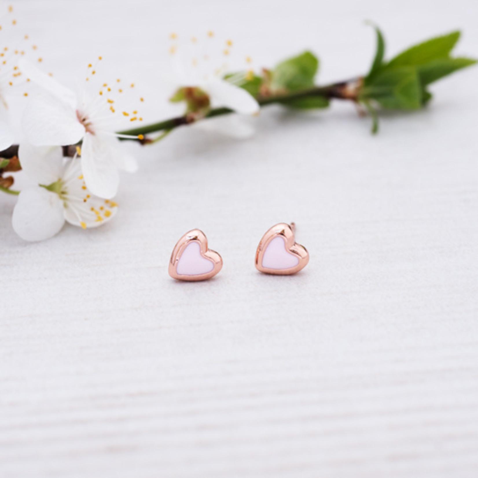 Glee Jewelry ~ Pink Cherish Studs