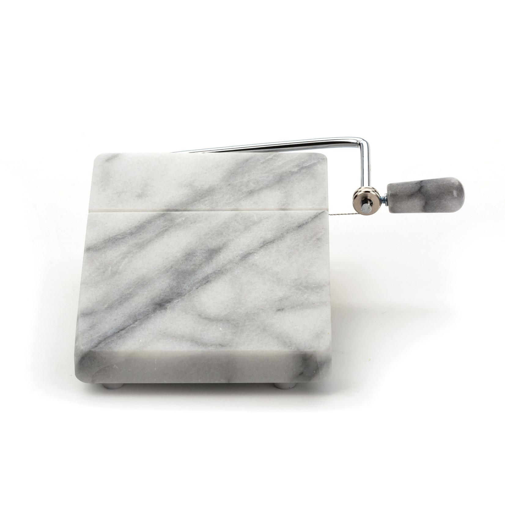 RSVP International White Marble Cheese Slicer