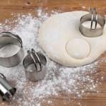RSVP International Round Biscuit Cutter Set