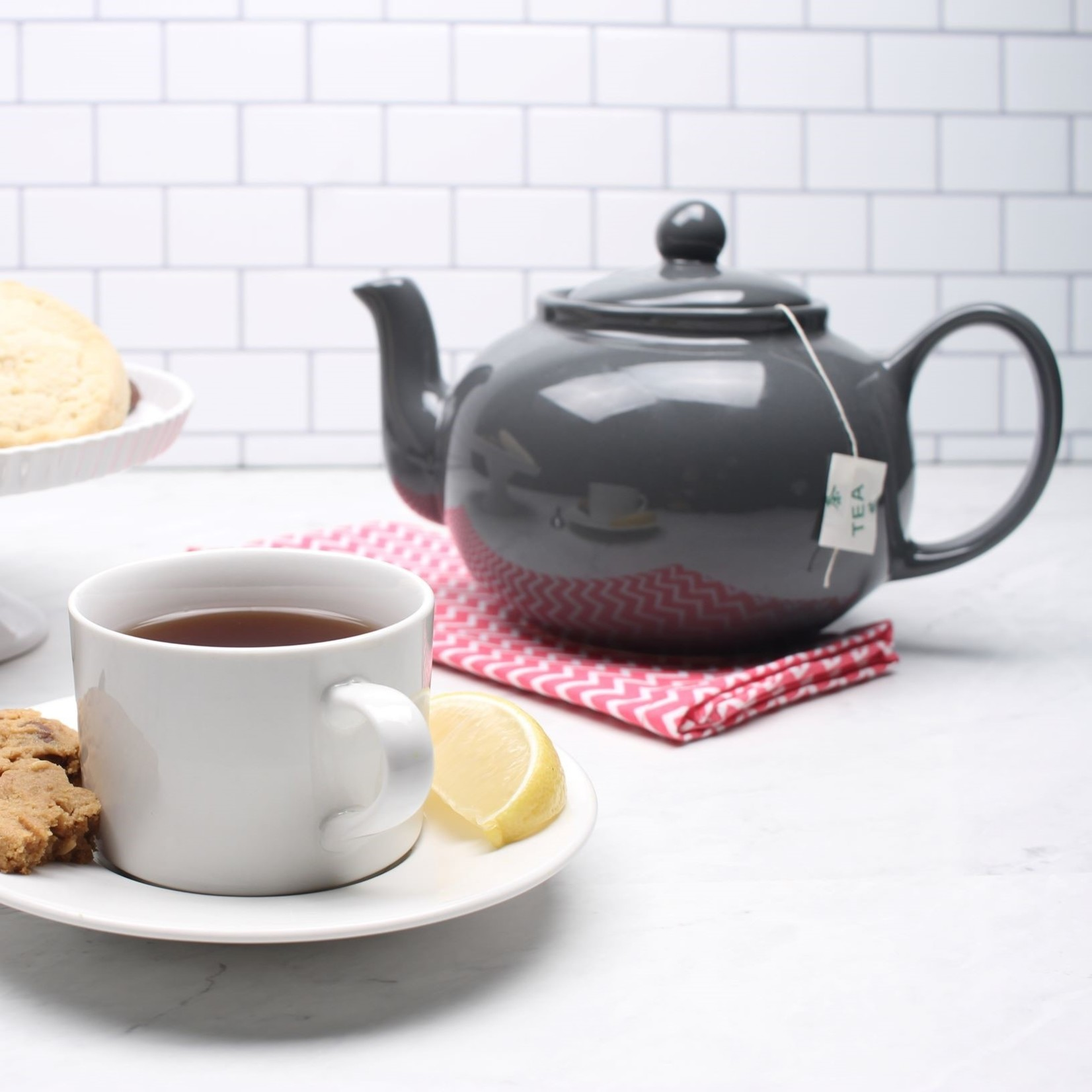 RSVP International Stoneware Teapot