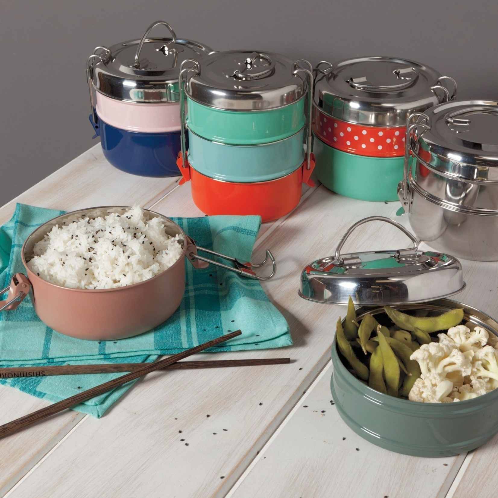 Heirloom Tiffin 2-Tiered Food Container
