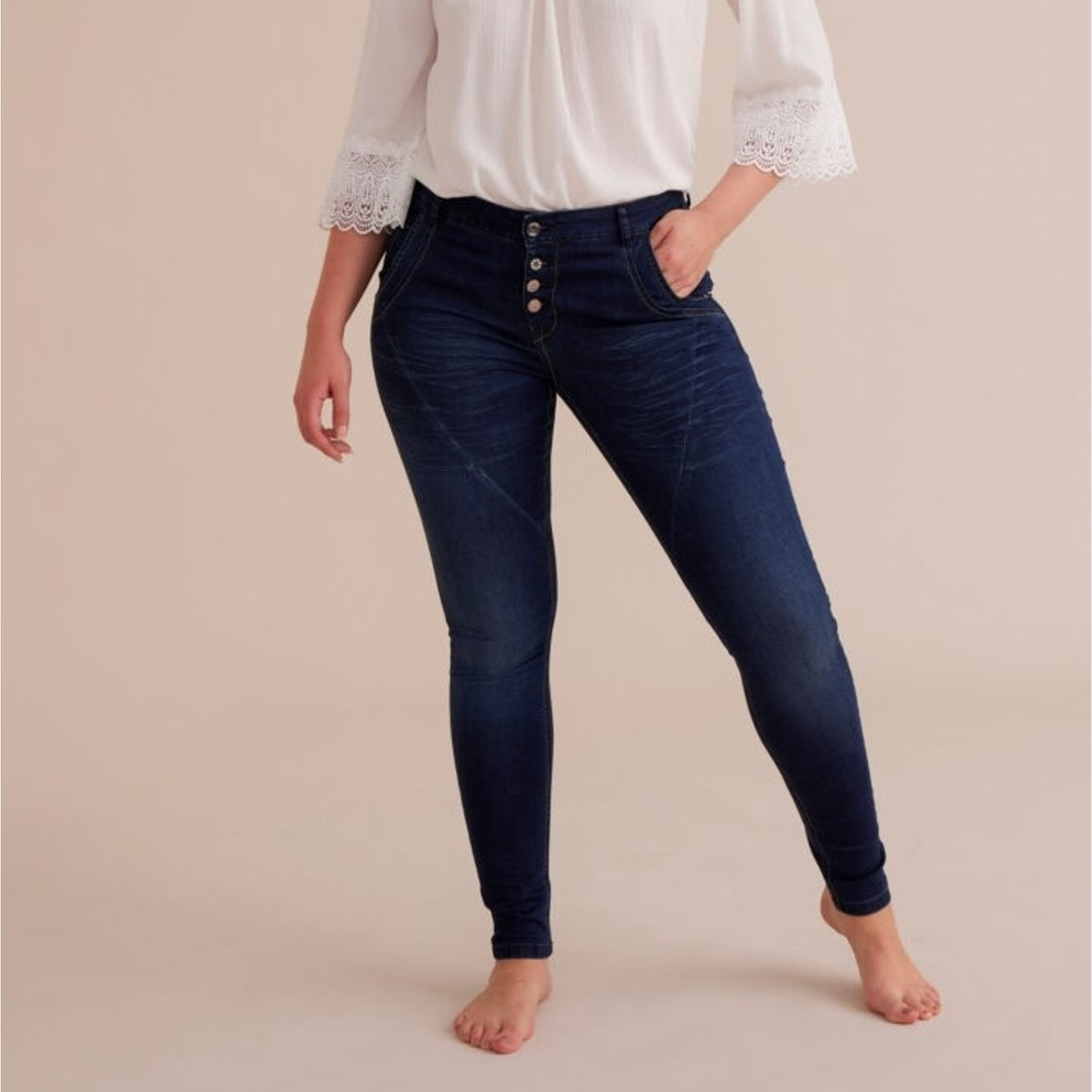Cream Baiily Power Stretch Jeans