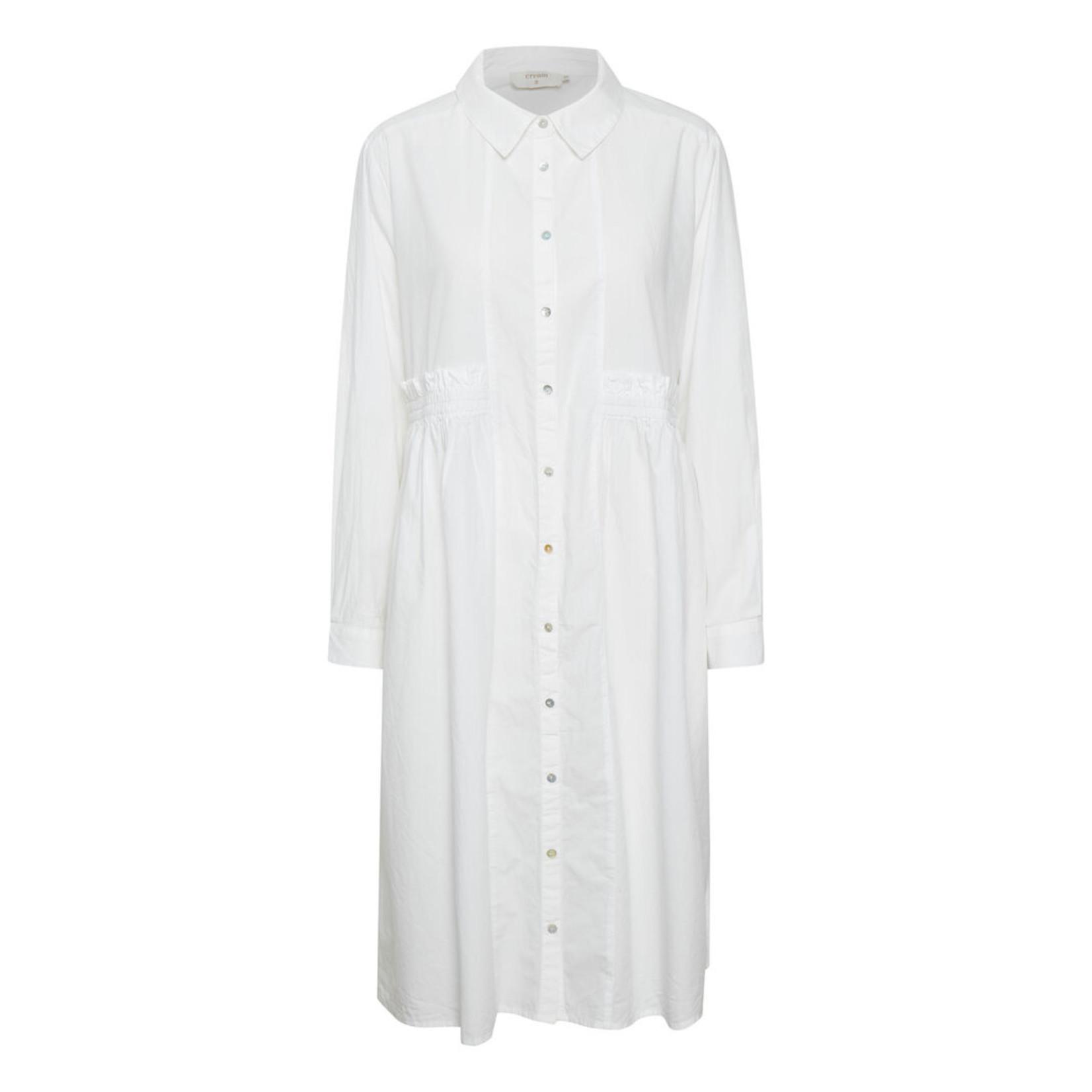 Cream Muhana Shirt Dress