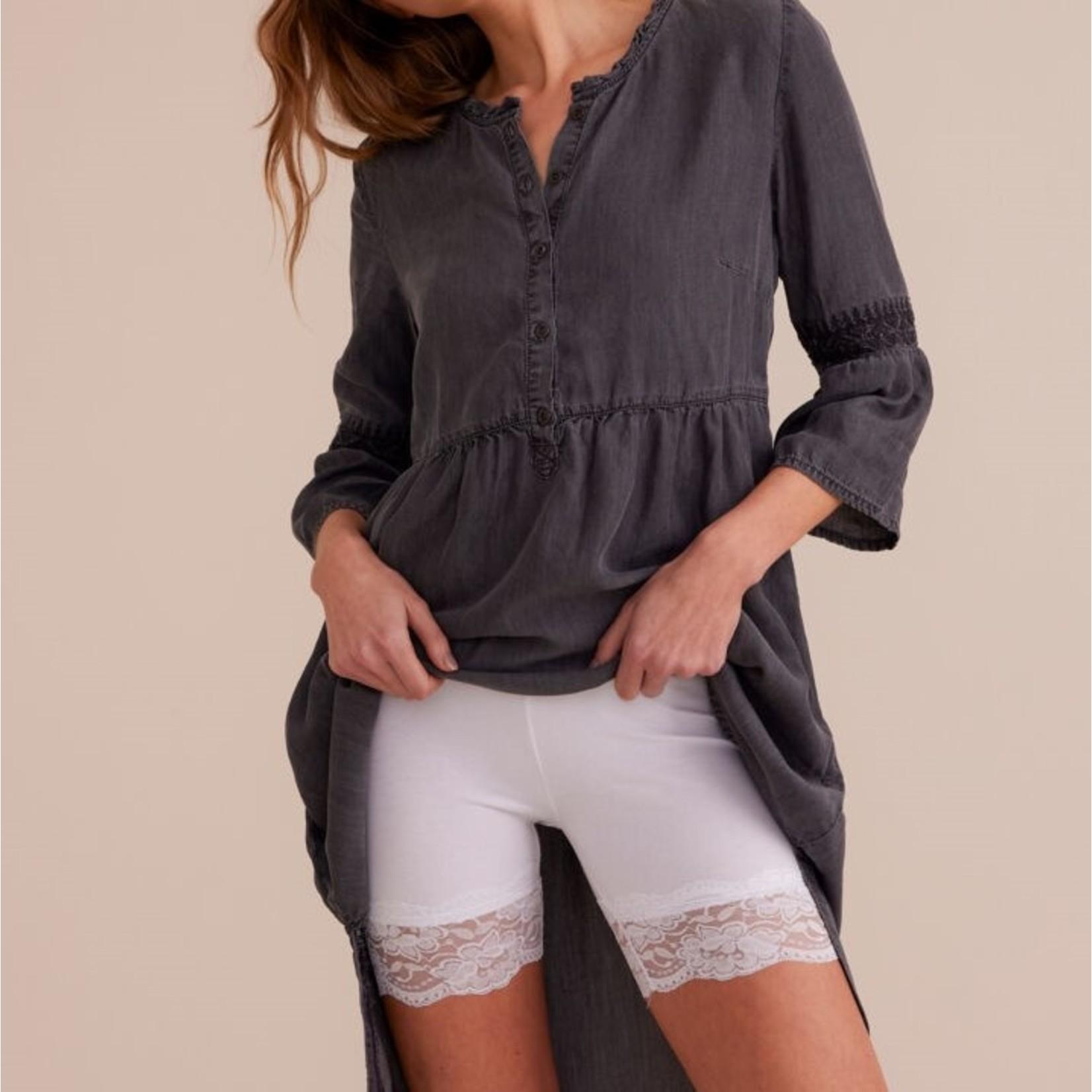 Cream Matilda Biker Shorts
