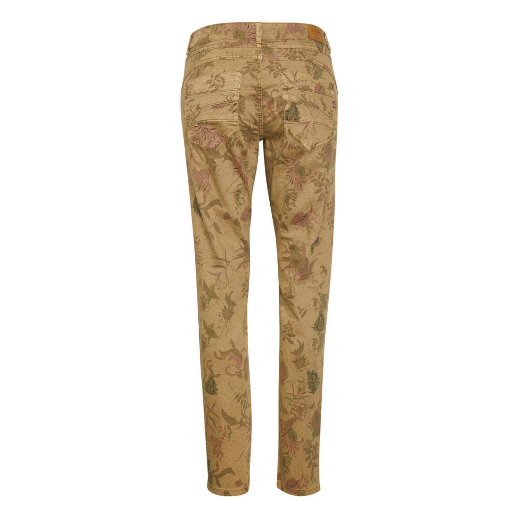 Cream Coco Fit Lotte Printed Twill Pant