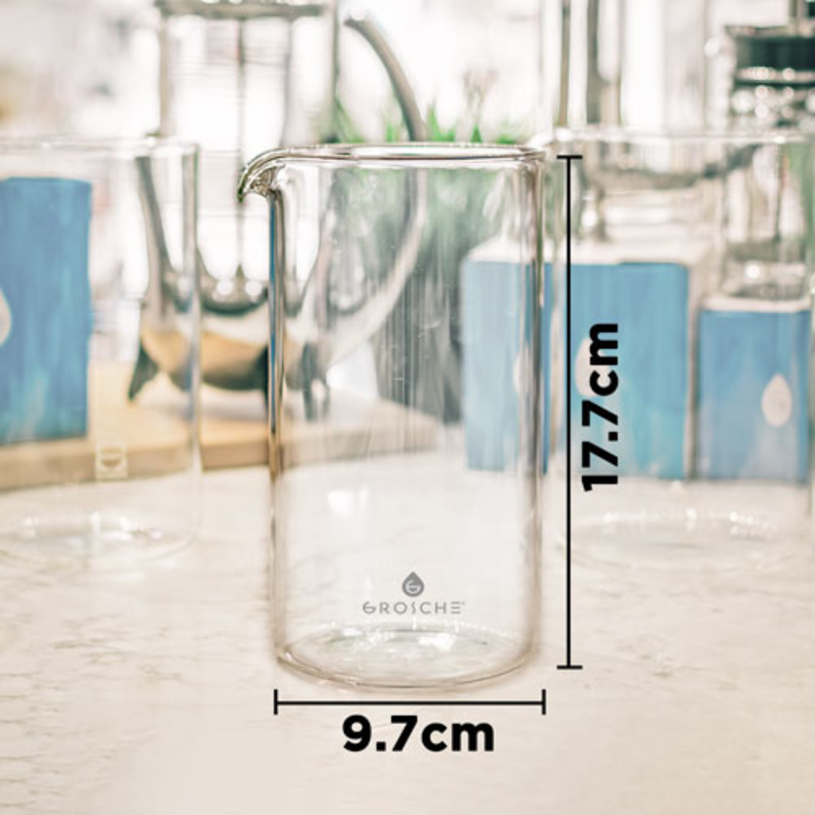 Grosche Replacement French Press Glass Beaker