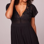 B.O.G. Collective All You Need Is Love Maxi Dress
