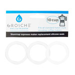 Grosche Milano Silicone Ring Replacement Set