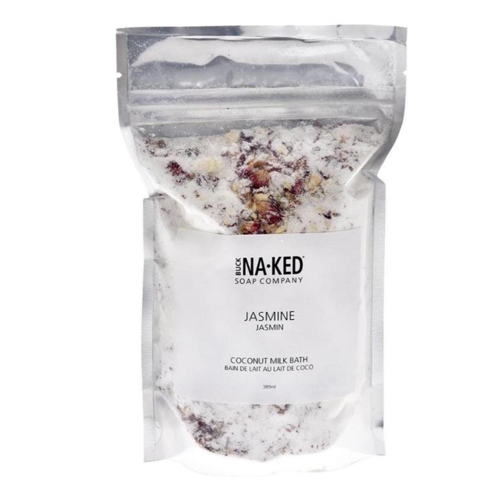 Buck Naked Soap Company Jasmine Coconut Milk Salt Soak