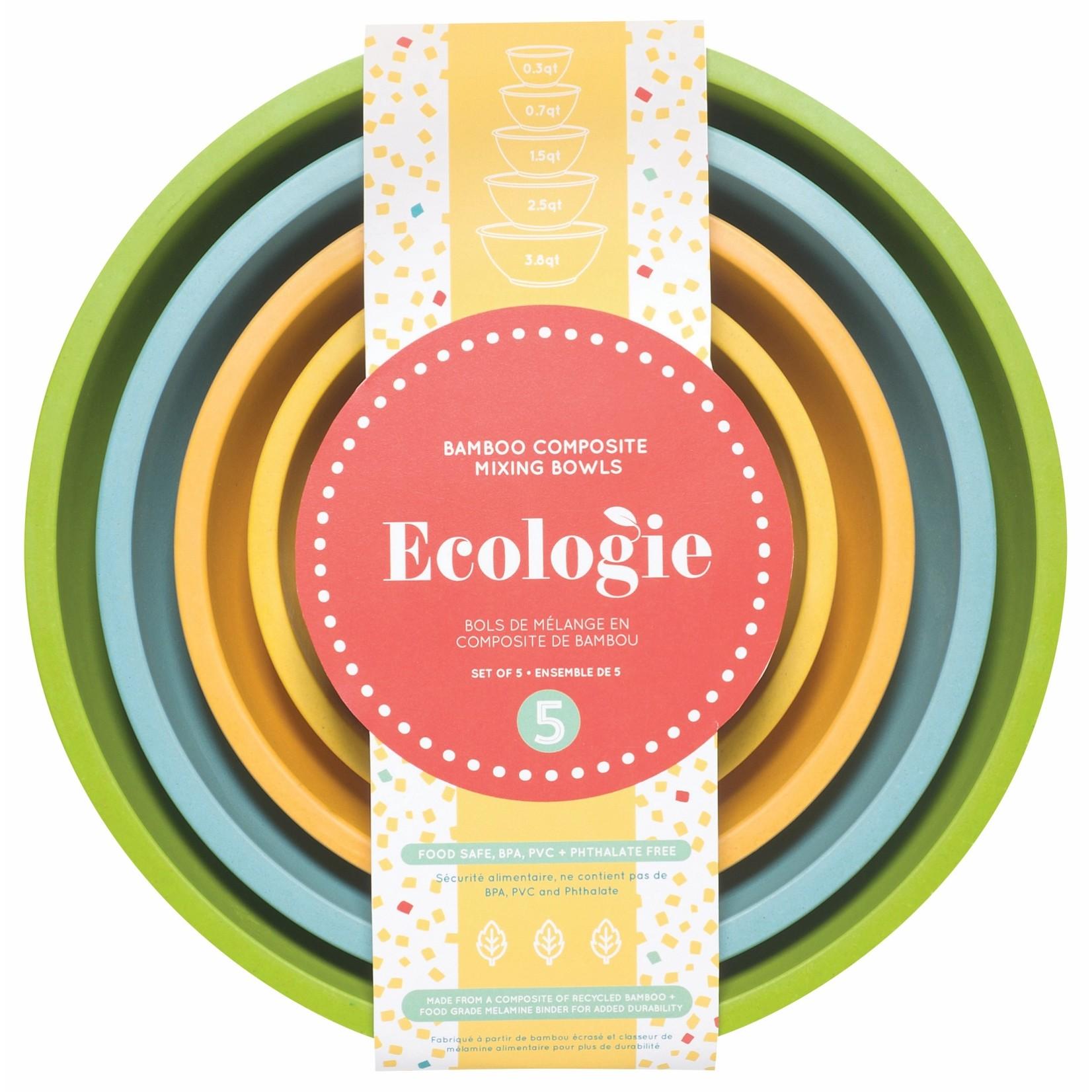 Ecologie Planta Bamboo Mixing Bowl Set