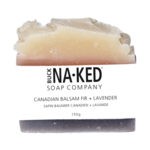 Buck Naked Soap Company Canadian Balsam Fir and Lavender Soap Bar