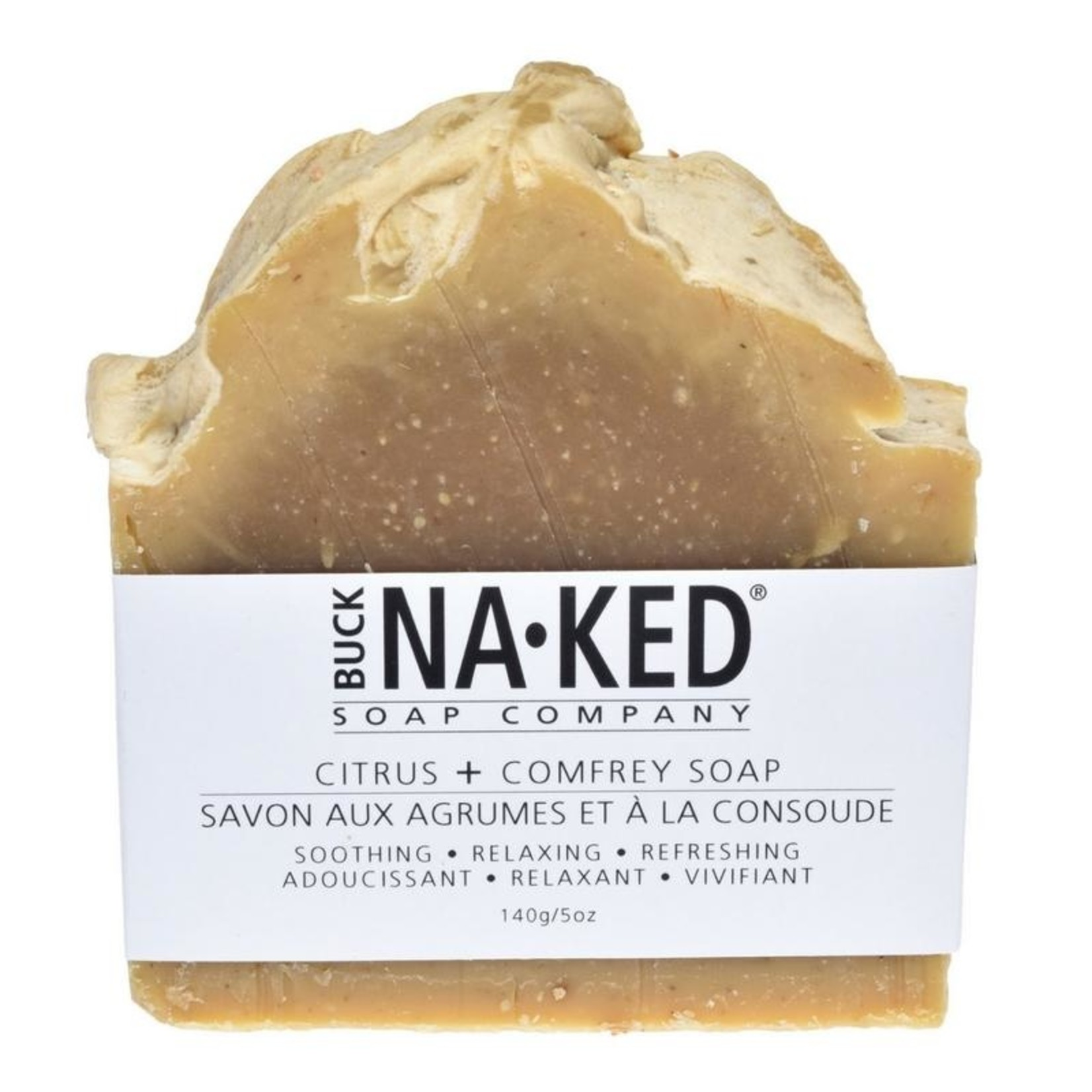 Buck Naked Soap Company Citrus Comfrey Soap Bar