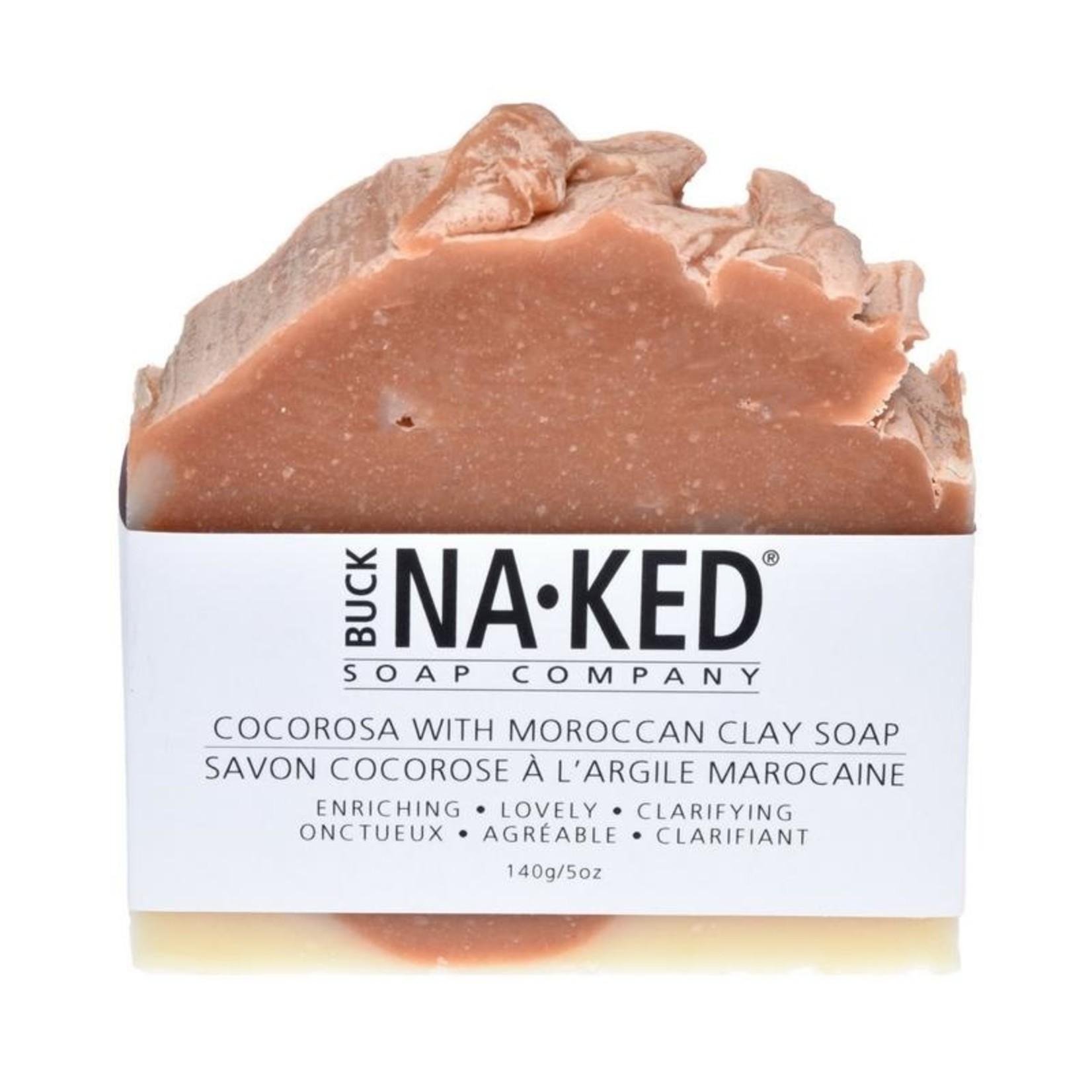 Buck Naked Soap Company Cocorosa Morocan Clay Soap Bar