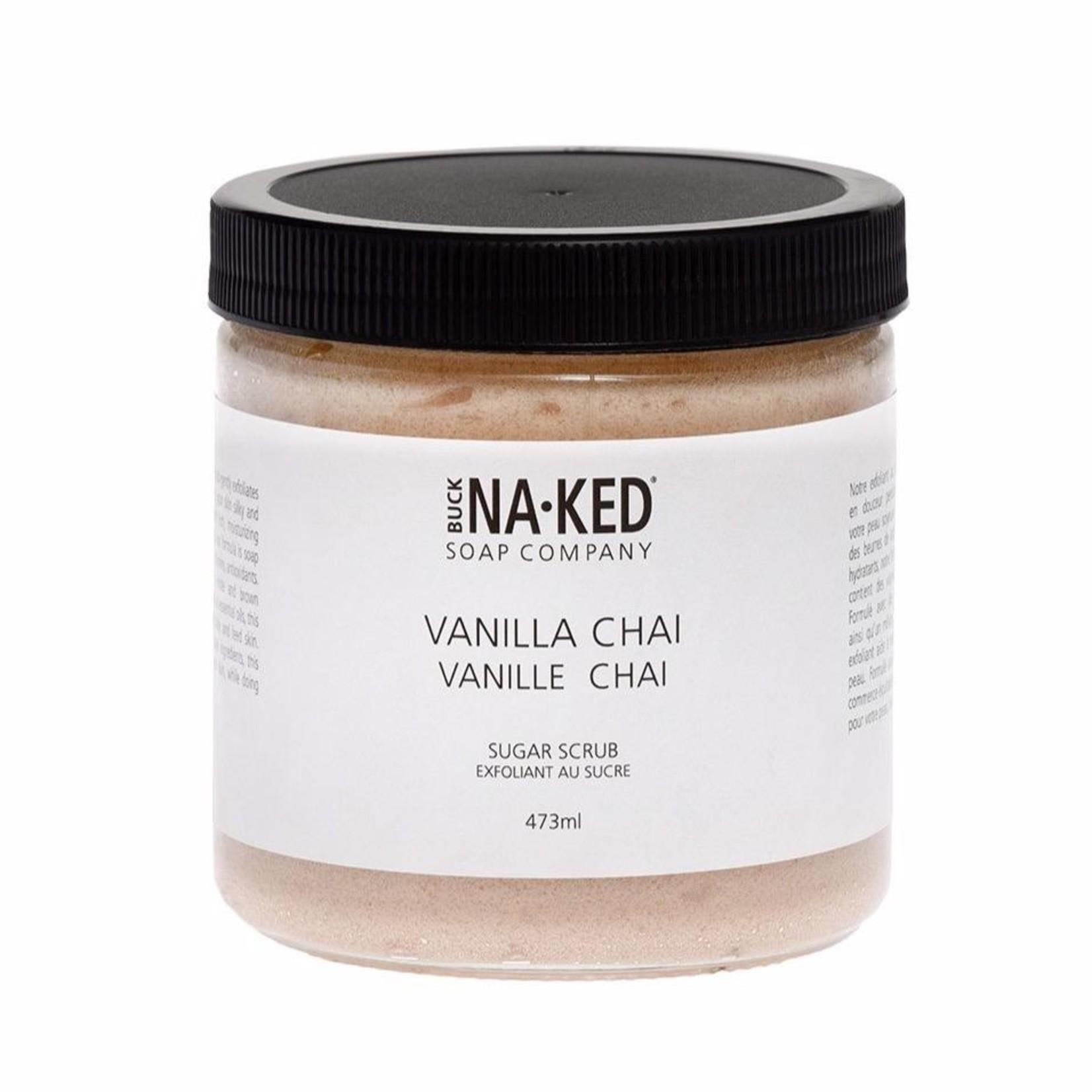 Buck Naked Soap Company Vanilla Chai Sugar Scrub