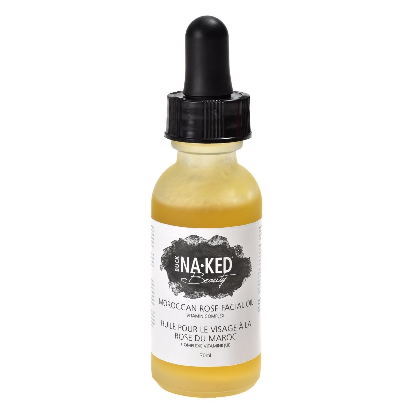 Buck Naked Soap Company Facial Oil Morrocan Rose