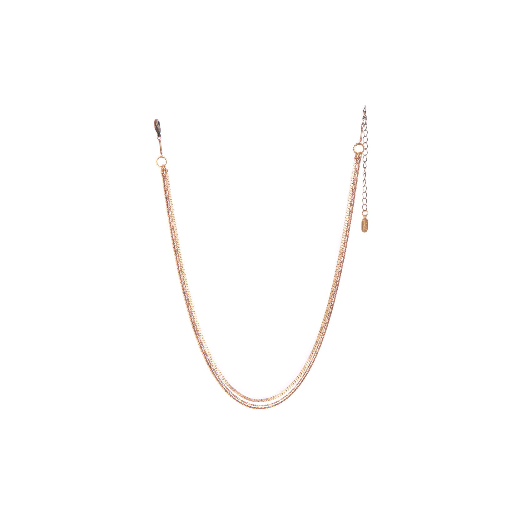 Hailey Gerrits Mini Mixed Chain Necklace