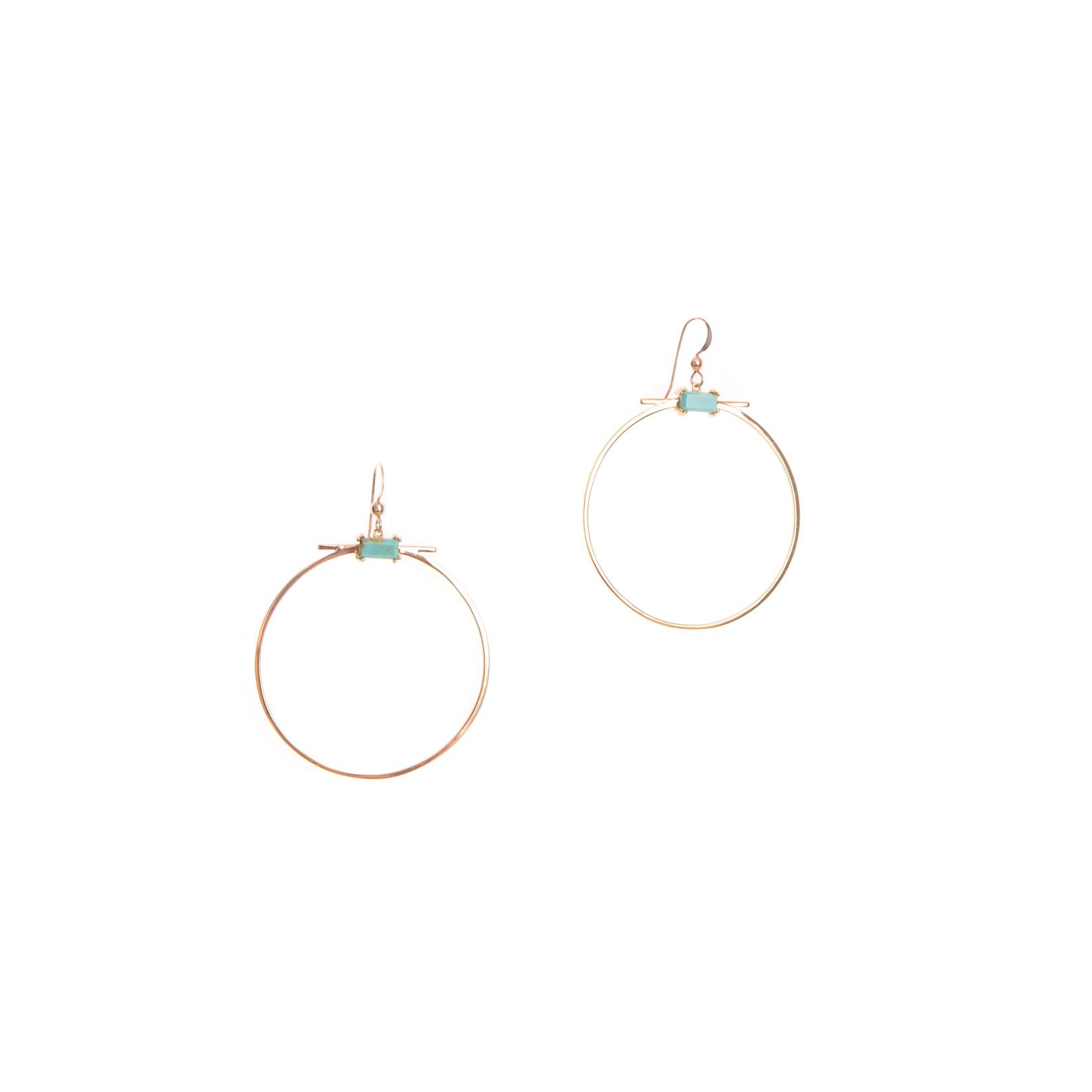 Hailey Gerrits Mendoza Hoop Earrings