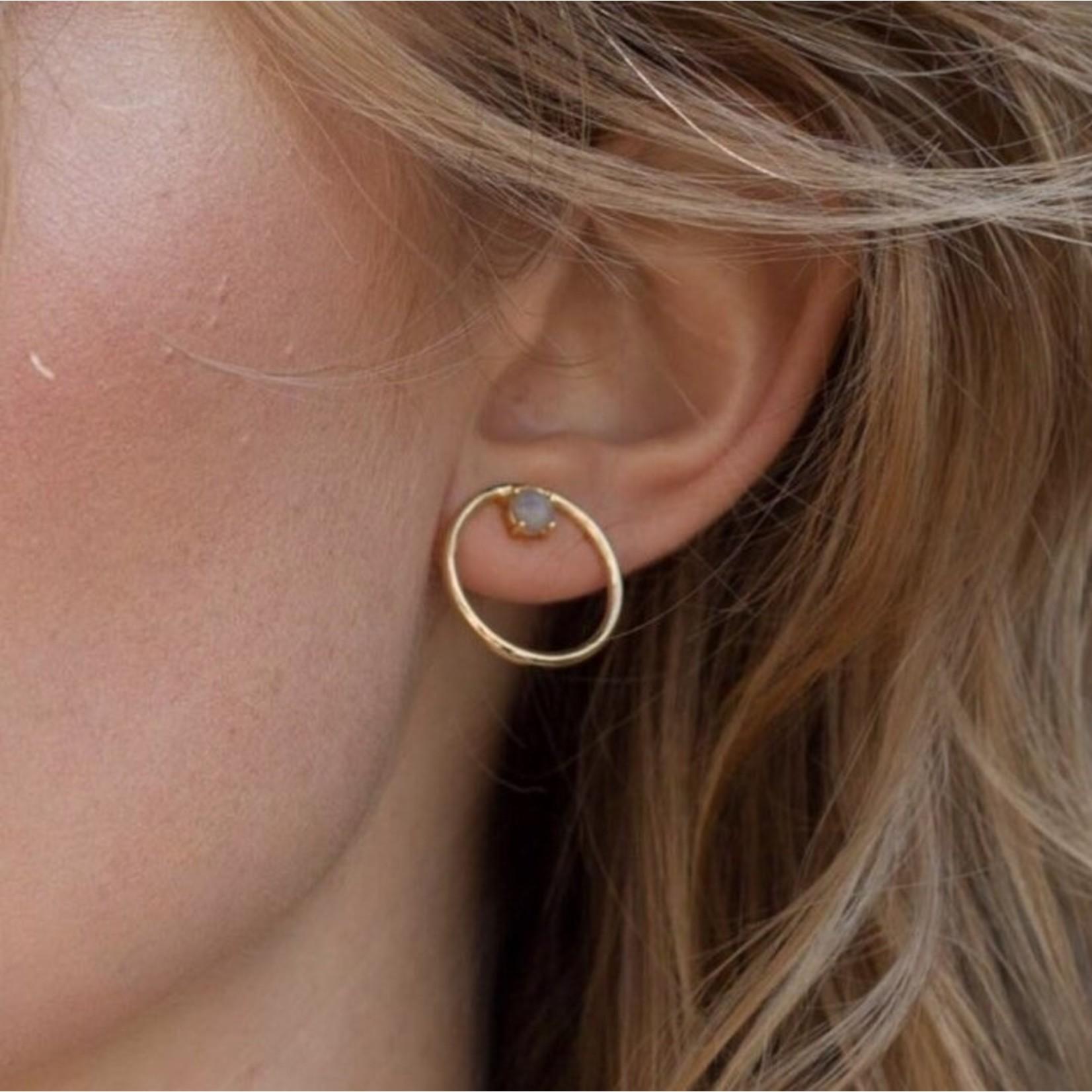 Hailey Gerrits Classic Beech Stud Earrings