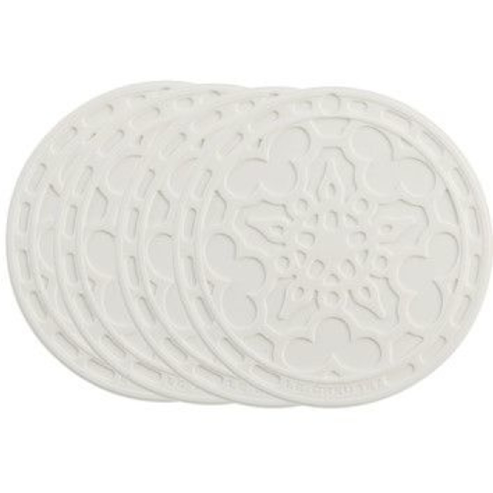 Le Creuset French Coasters - Set of 4