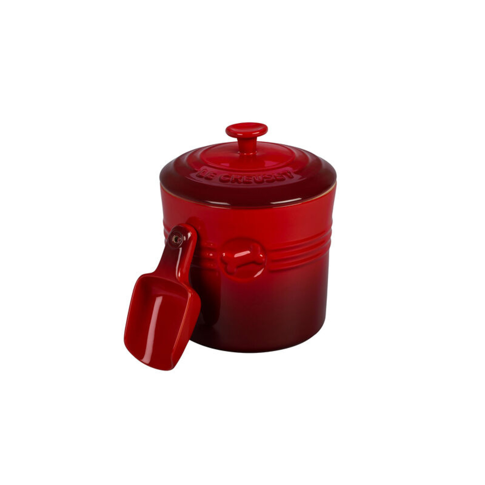 Le Creuset Pet Food Container with Scoop