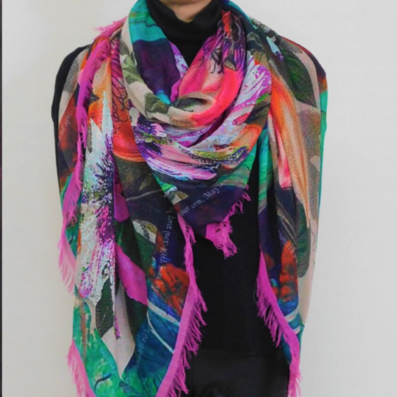 Love's Pure Light Your Full Of Passion and Zeal Silk Modal Scarf