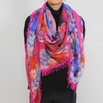 Love's Pure Light You Are Heading In The Right Direction Silk Modal Scarf