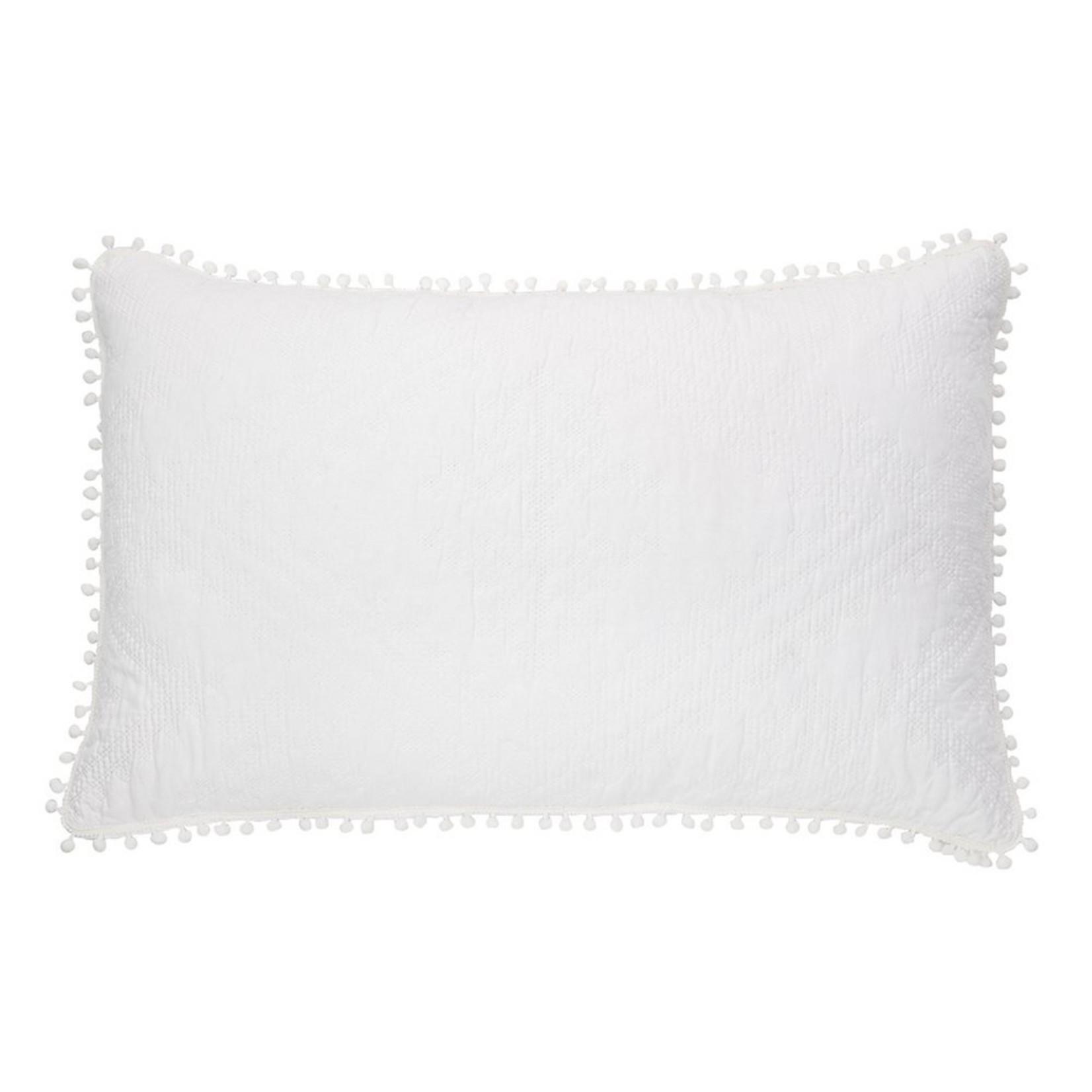 Brunelli Ethos White Pillow Sham