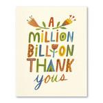 Love Muchly A Million, Billion Thank Yous.