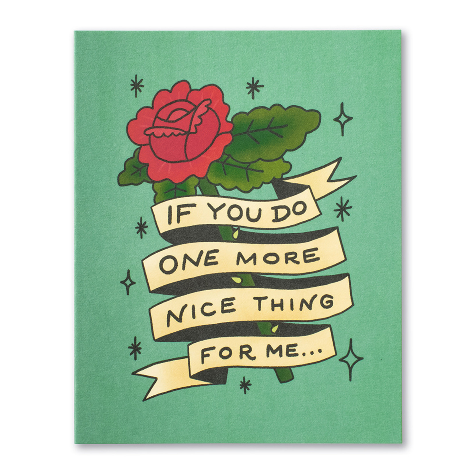 Love Muchly If You Do One More Nice Thing For Me...