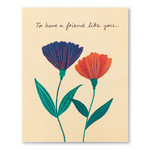 Love Muchly To have a friend like you…