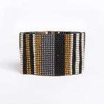 Ink + Alloy Stripe Stretch Bracelet