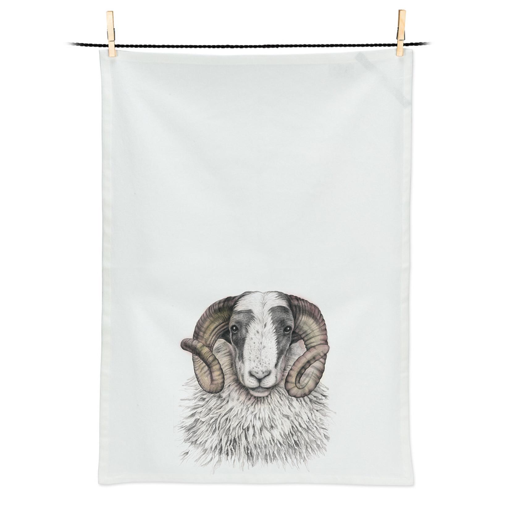 Abbott Printed Tea Towel