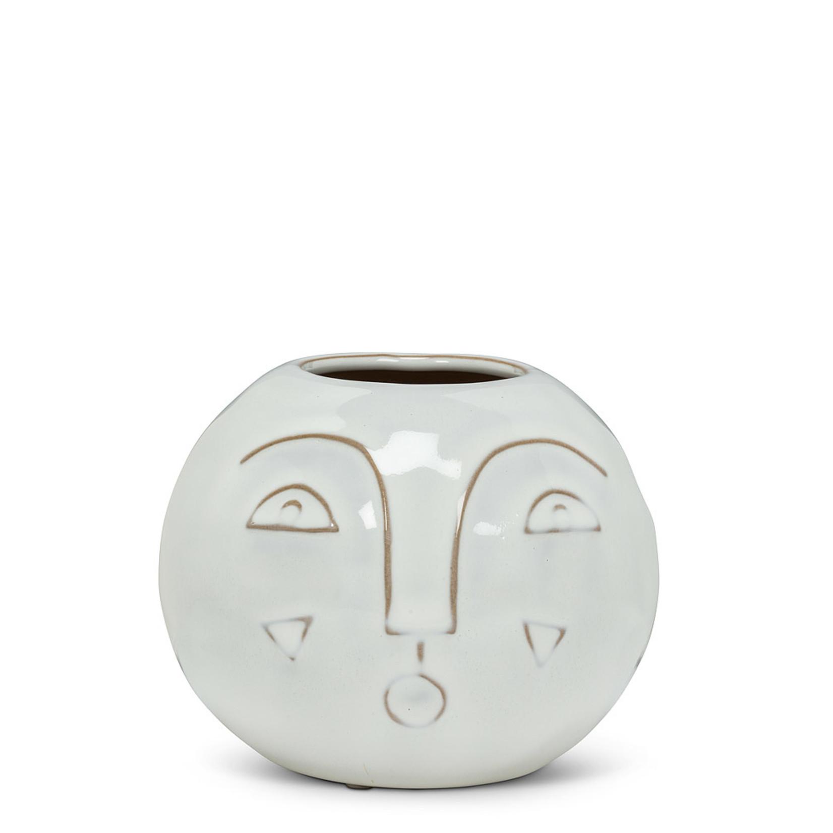 Abbott Modern Face Vase