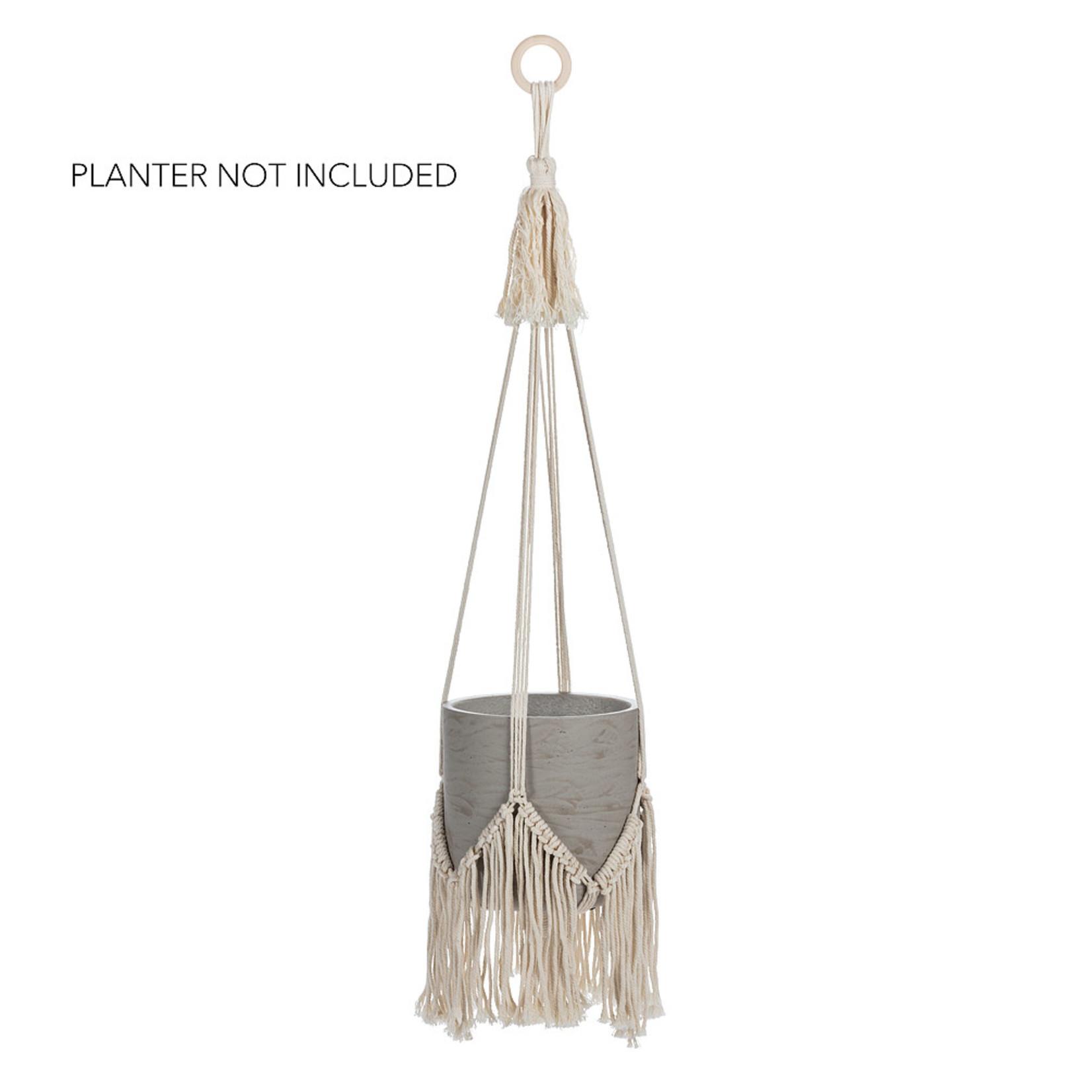 Abbott Macramé Fringe Planter Hanger