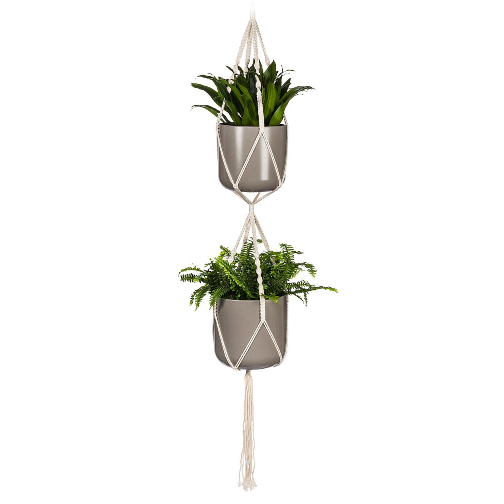 Abbott Macramé Double Planter Hanger
