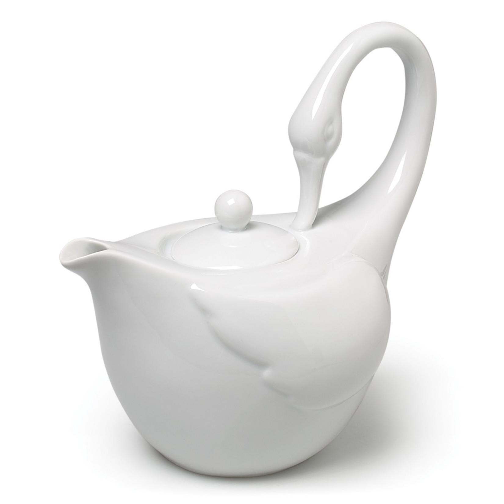 Abbott Graceful Swan Teapot