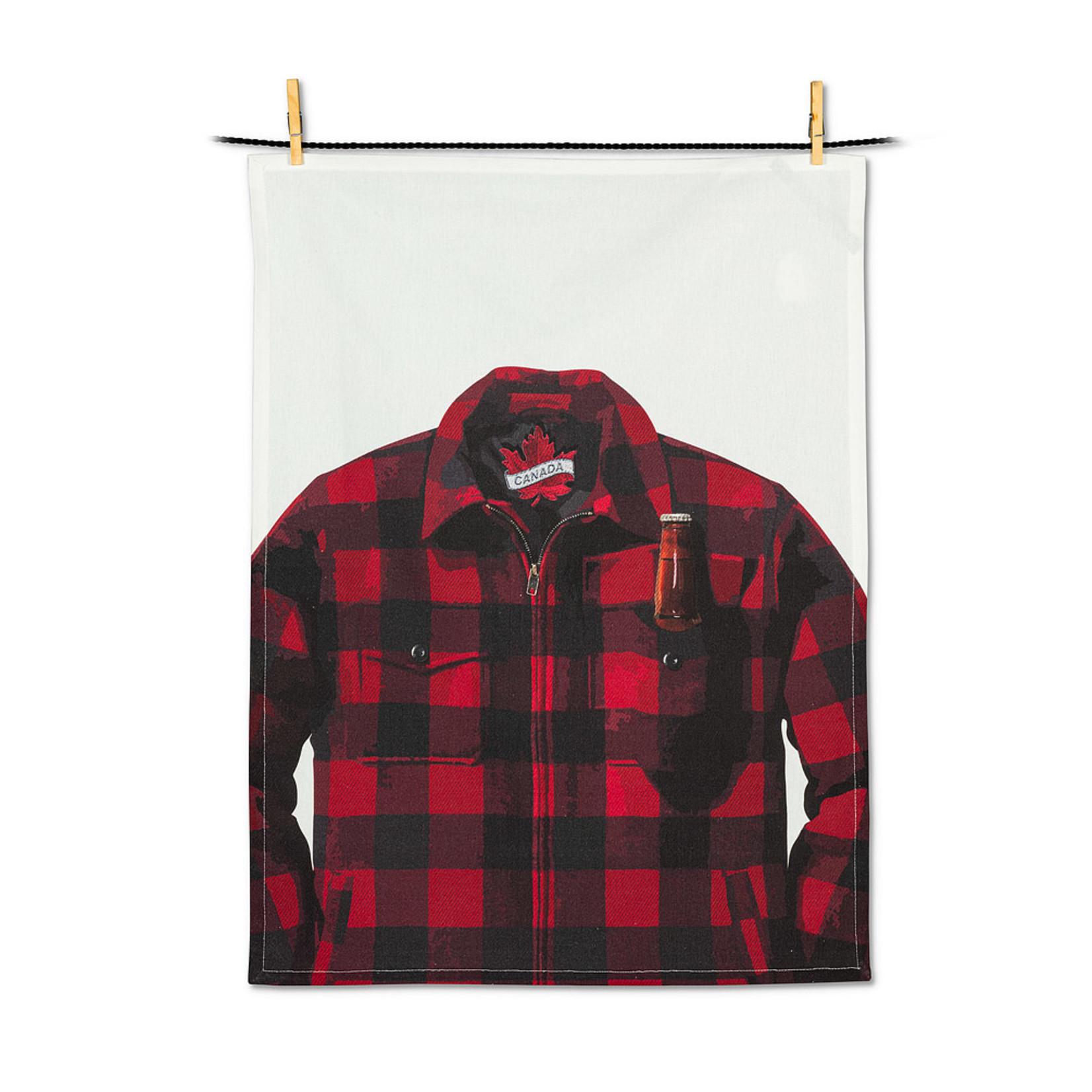 Abbott Buffalo Check Jacket with Beer Tea Towel