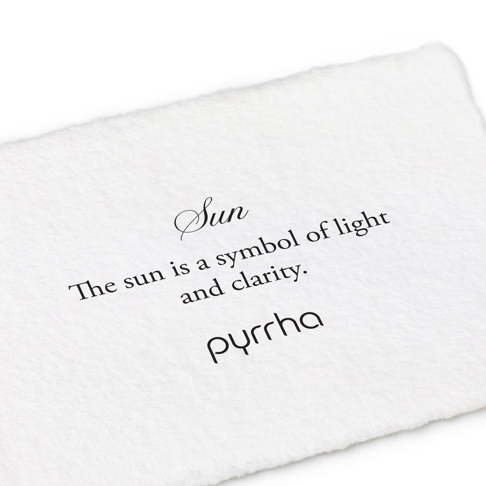 Pyrrha Sun Symbol Stud Earring
