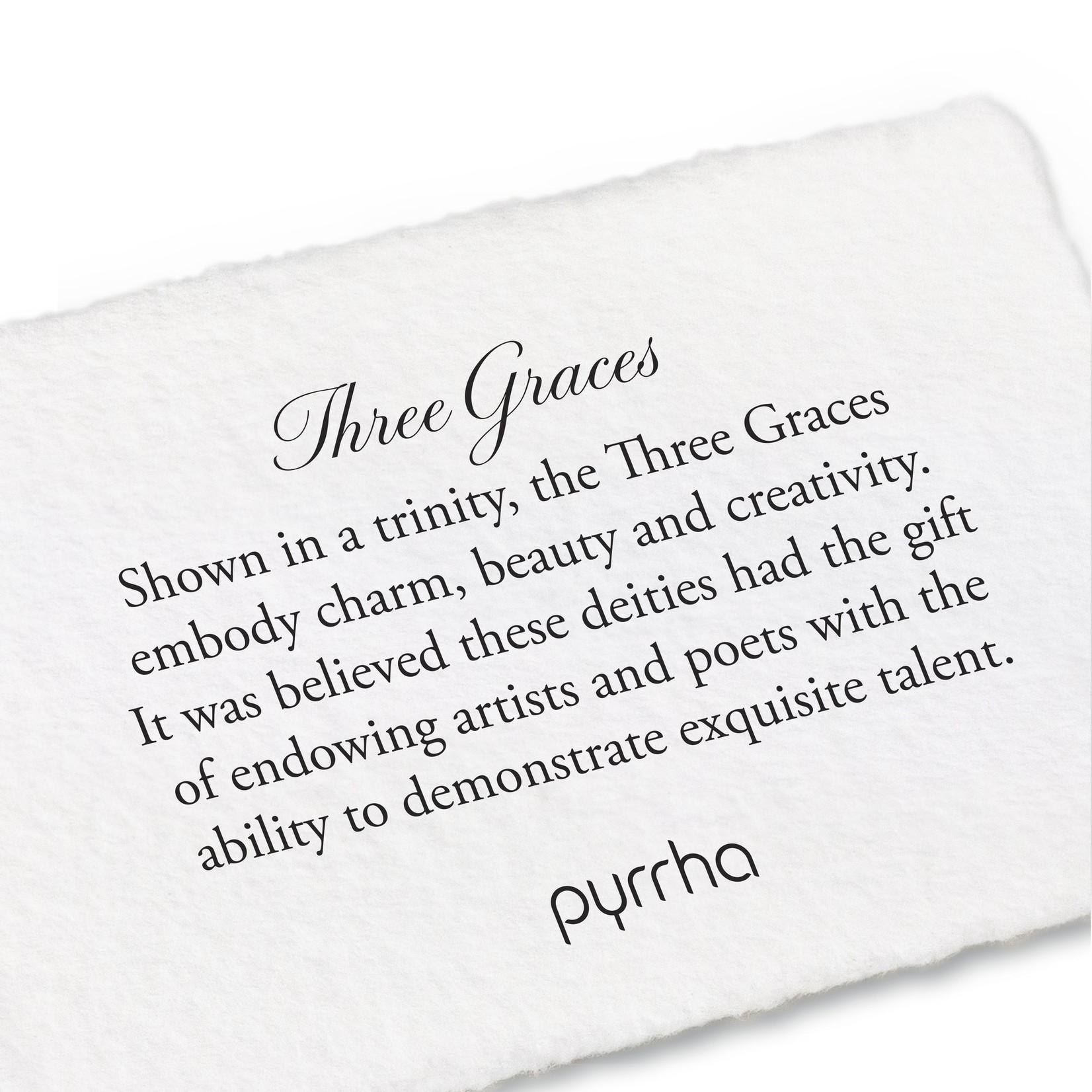 Pyrrha Small Three Graces Locket