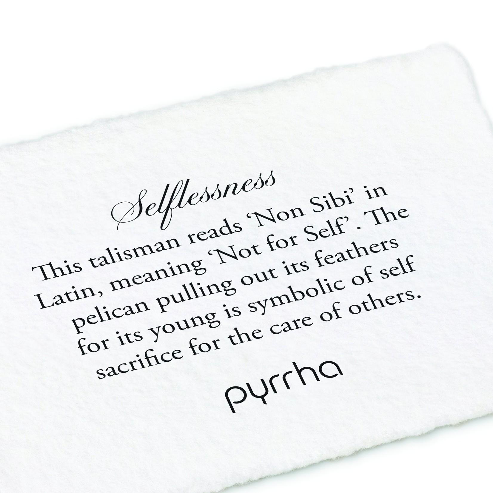 Pyrrha Small Selflessness Locket