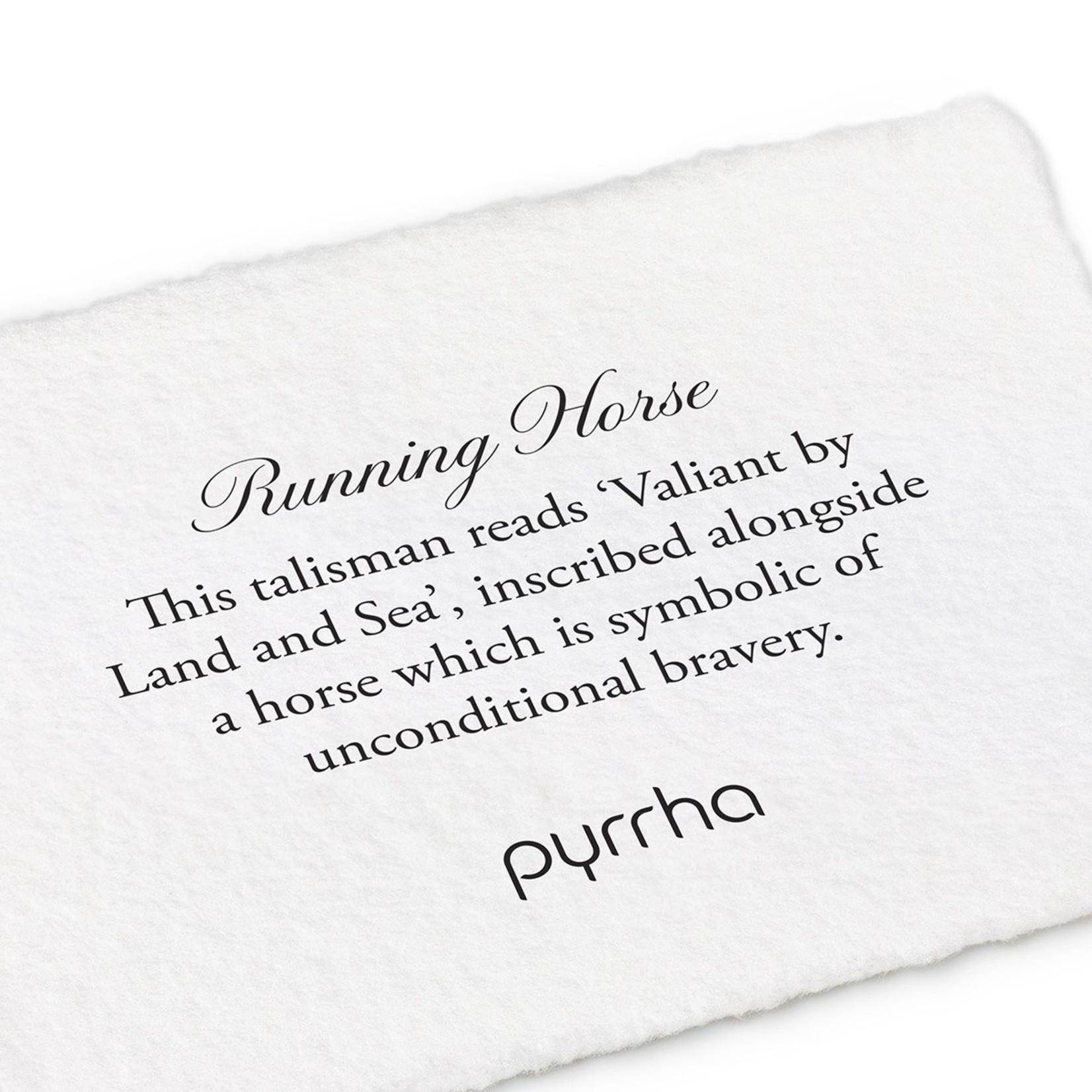 Pyrrha Running Horse Signature Talisman