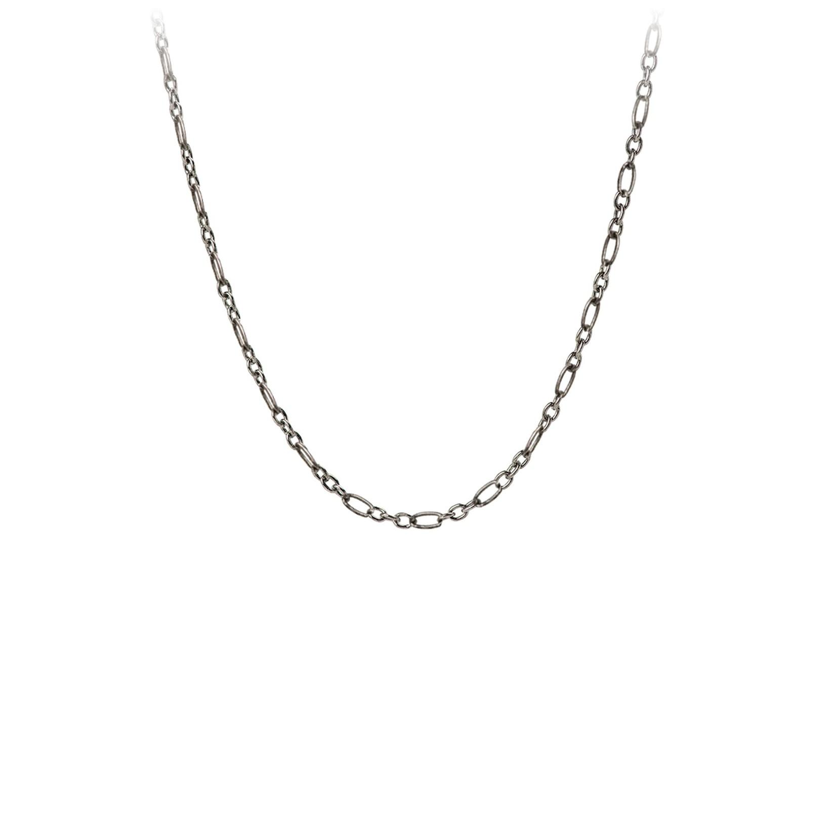 Pyrrha Oxidized Sterling Silver Medium Anchor Chain
