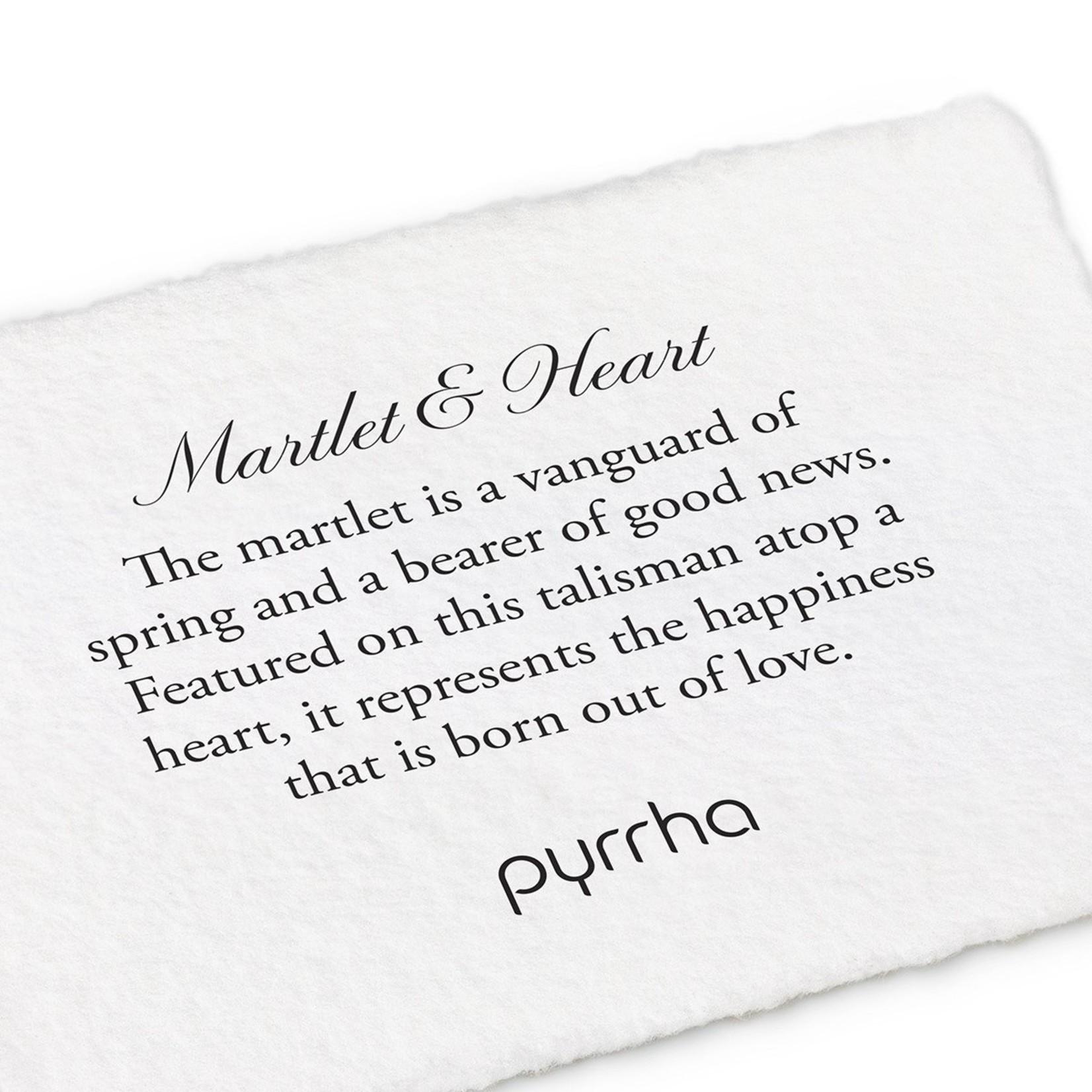 Pyrrha Martlet & Heart Signature Talisman
