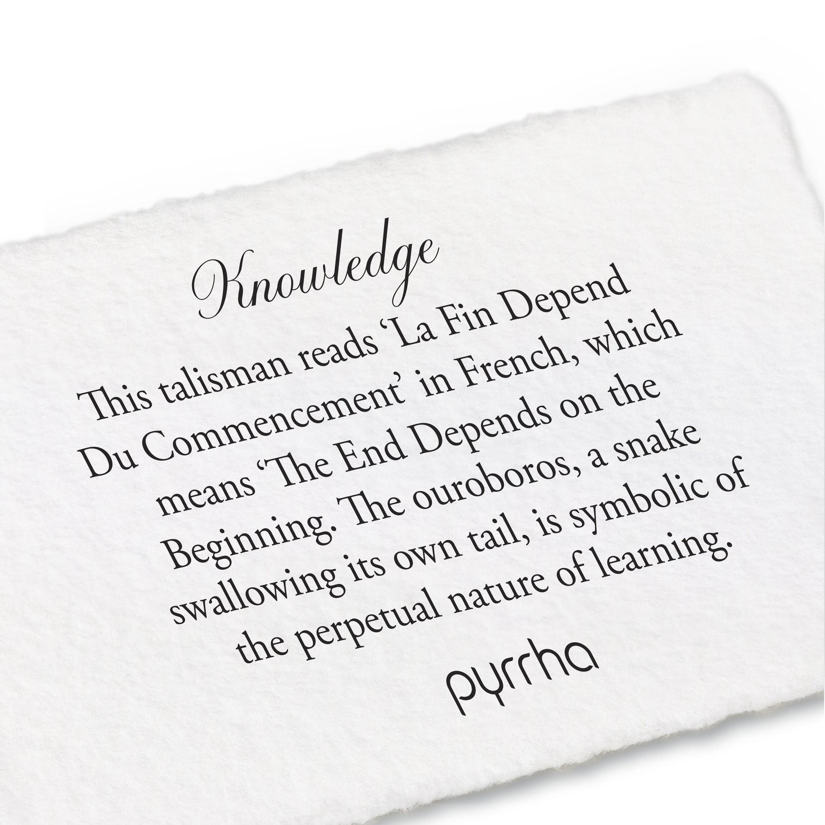 Pyrrha Knowledge Signature Talisman