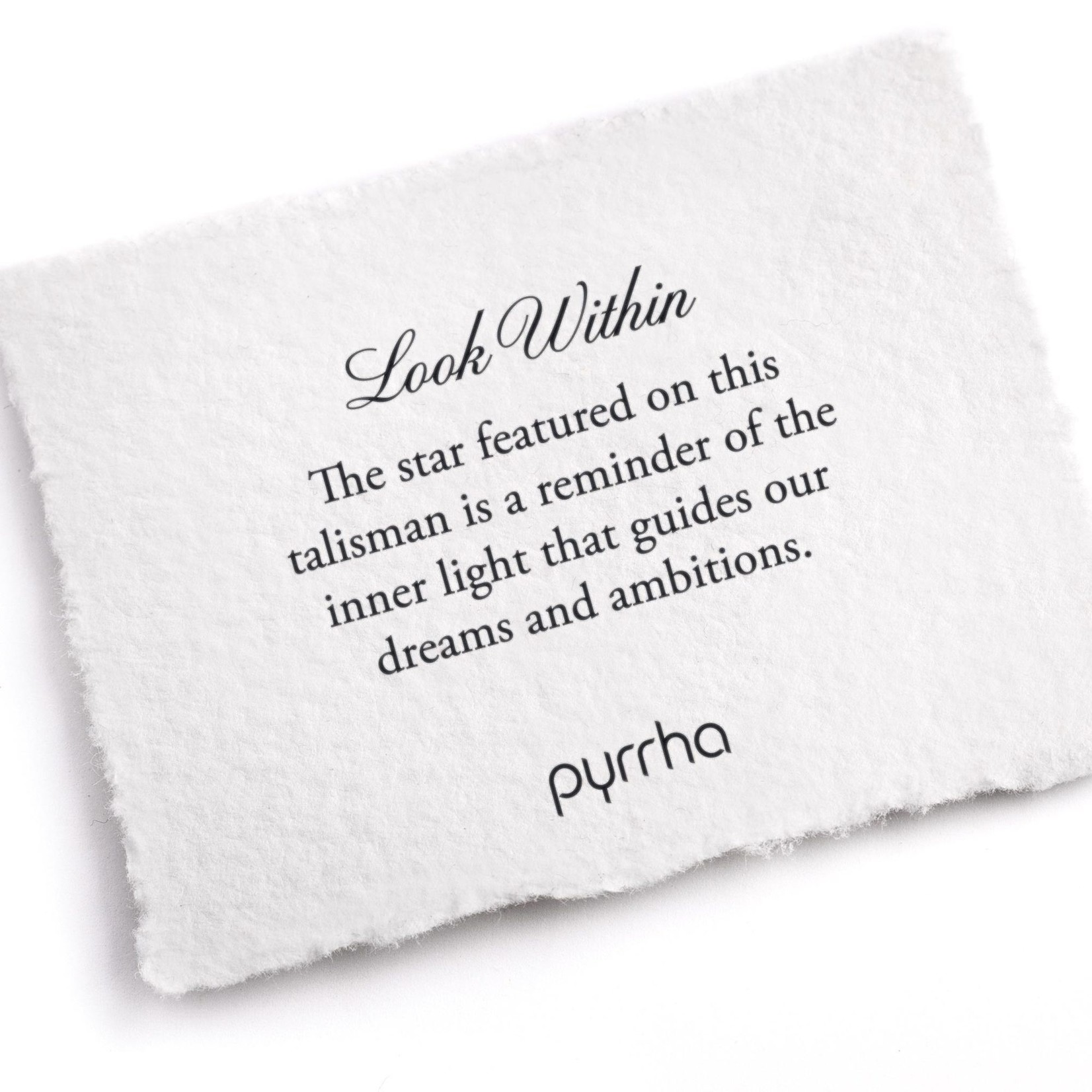 Pyrrha Look Within 14K Gold Talisman
