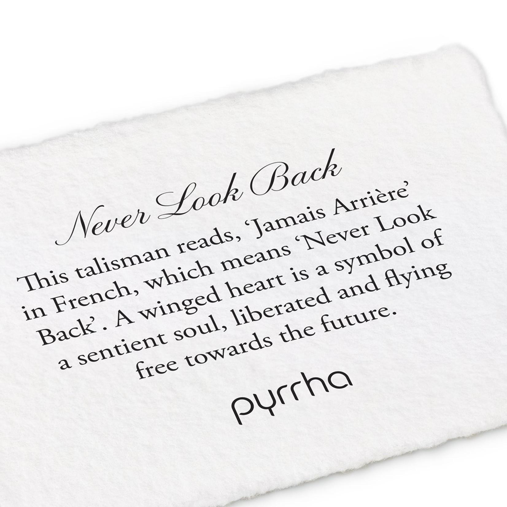 Pyrrha Never Look Back 14K Gold Talisman