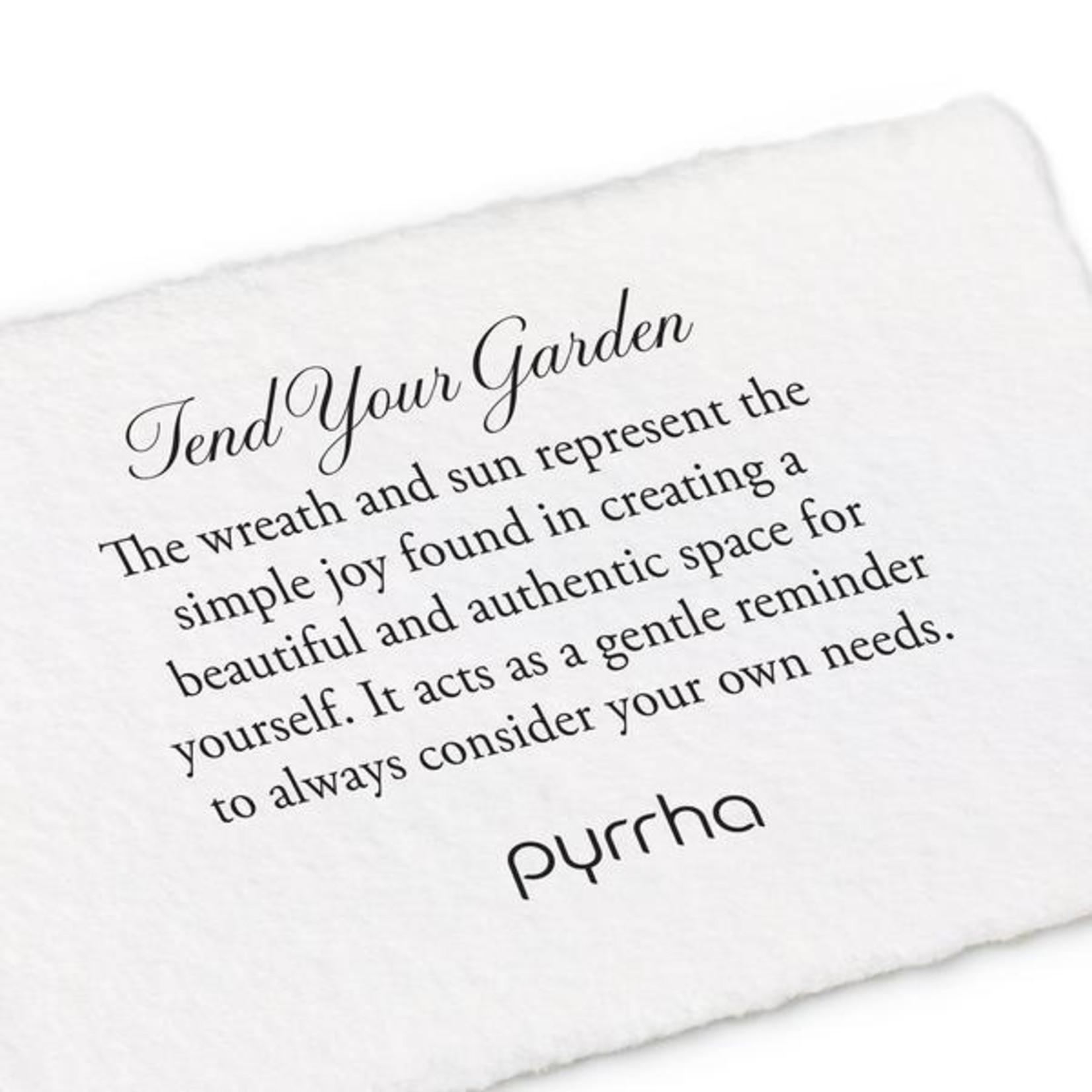 Pyrrha Tend Your Garden 14K Gold Talisman