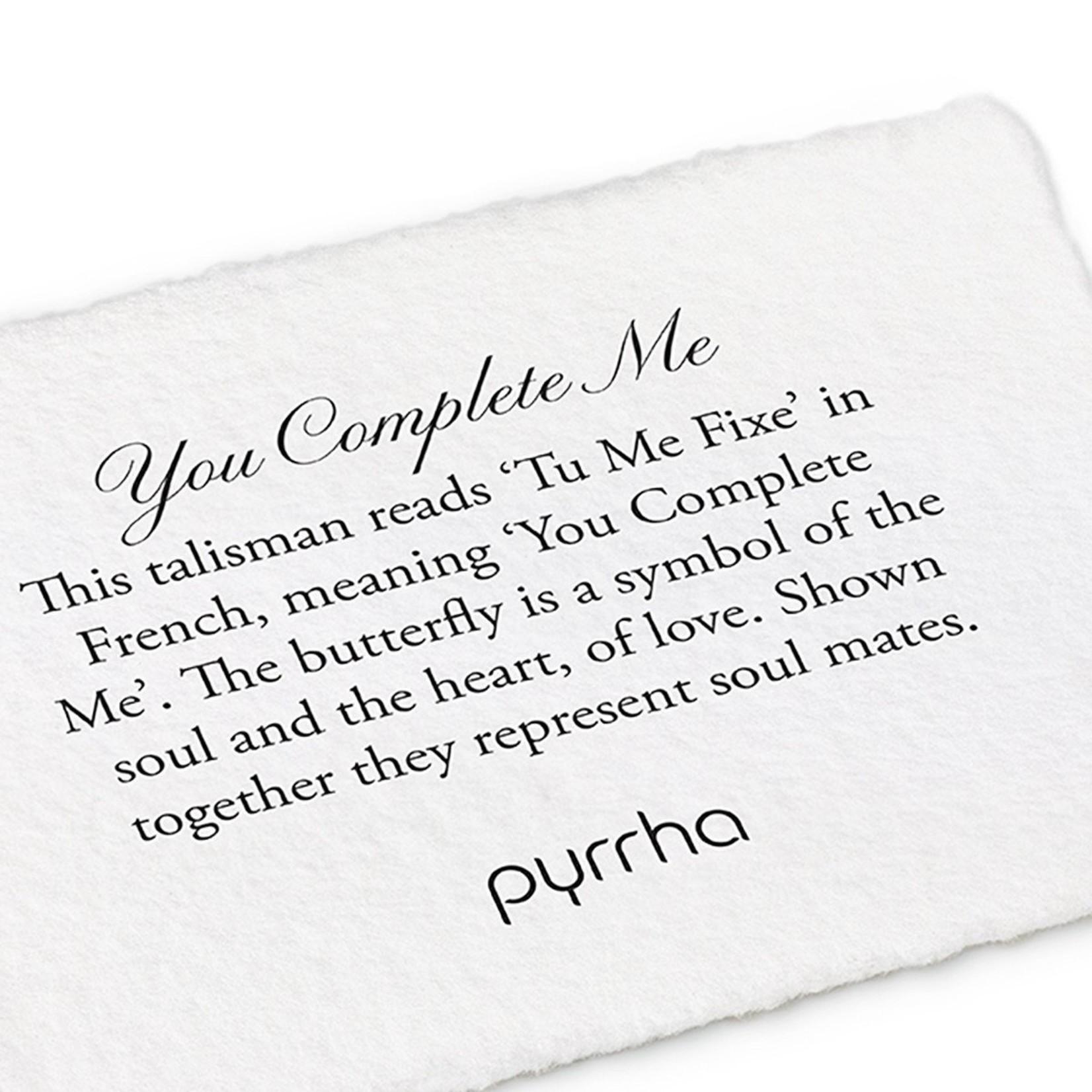 Pyrrha You Complete Me Talisman