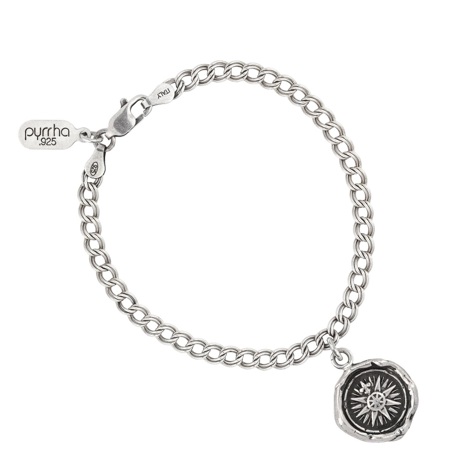 Pyrrha Direction Talisman Chain Bracelet